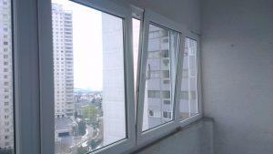 پنجره دوجداره با یراق دوحالته