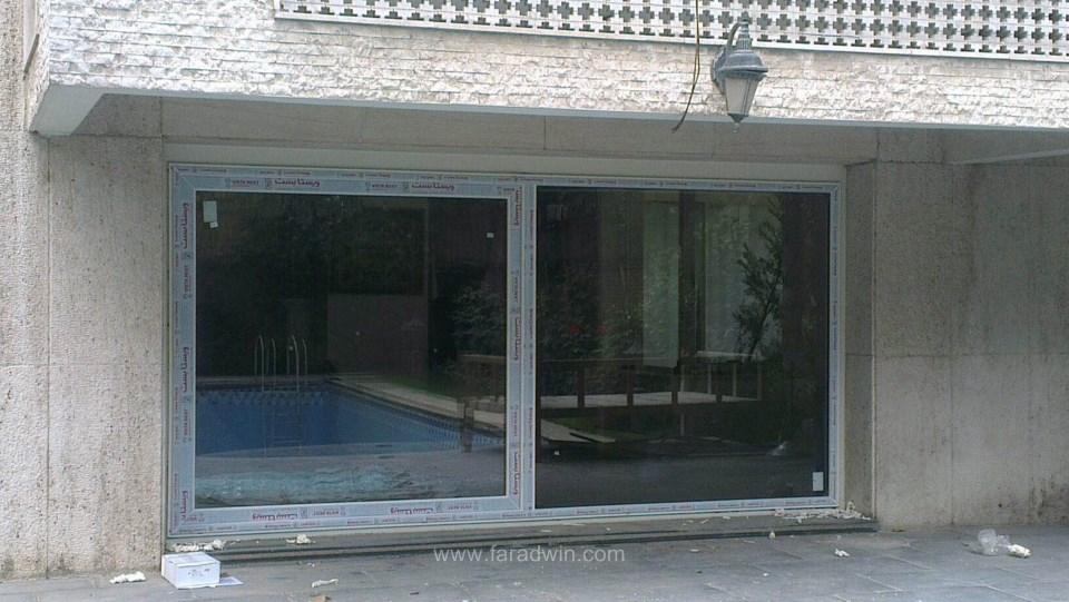 پنجره دوجداره با یراق فولکس واگنی