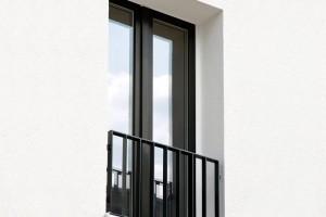 پنجره آلومینیومی ترمال بریک لولایی