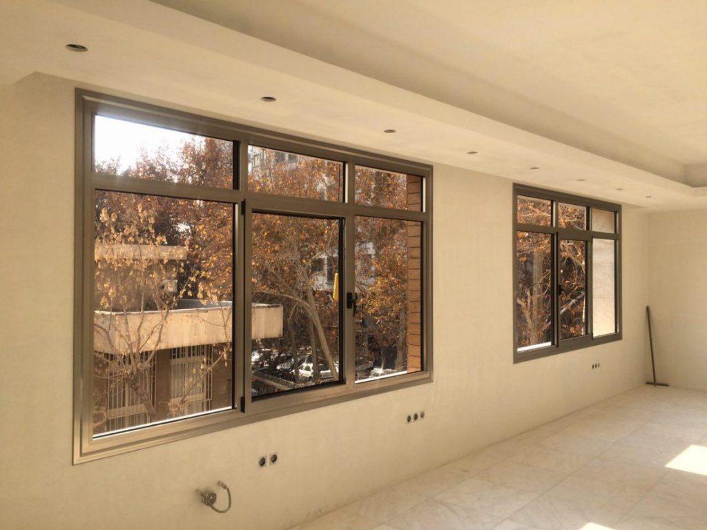 پنجره دوجداره آلومینیومی ۴