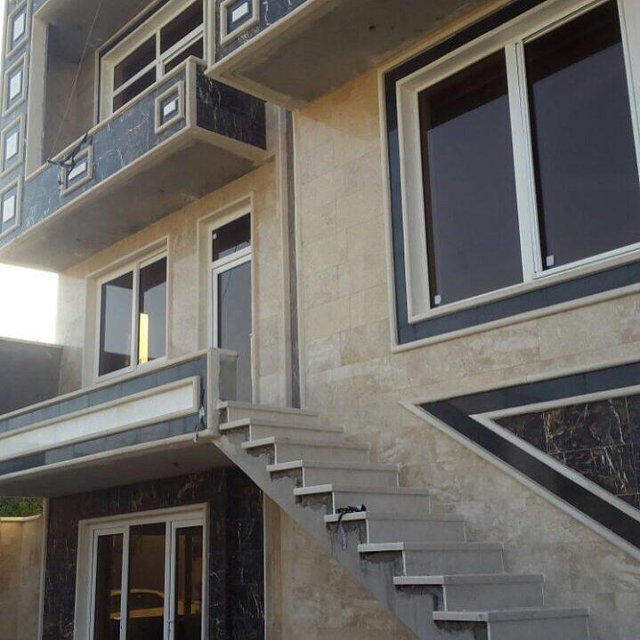 پنجره Upvc- پروژه بغداد