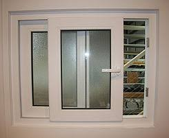پنجره دوجداره ریلی با پروفیل