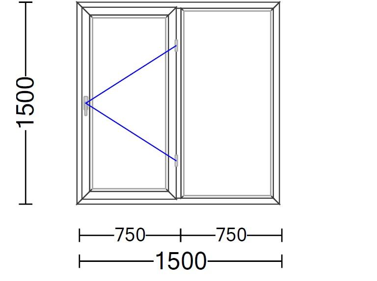 محاسبه آنلاین قیمت پنجره دوجداره |ویستابست یراق vorne 2