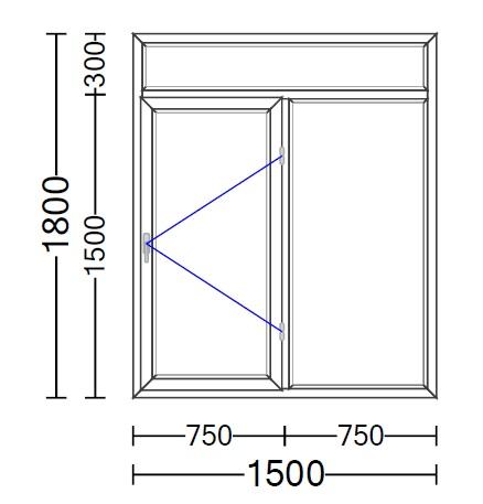 قیمت پنجره دوجداره ویستابست