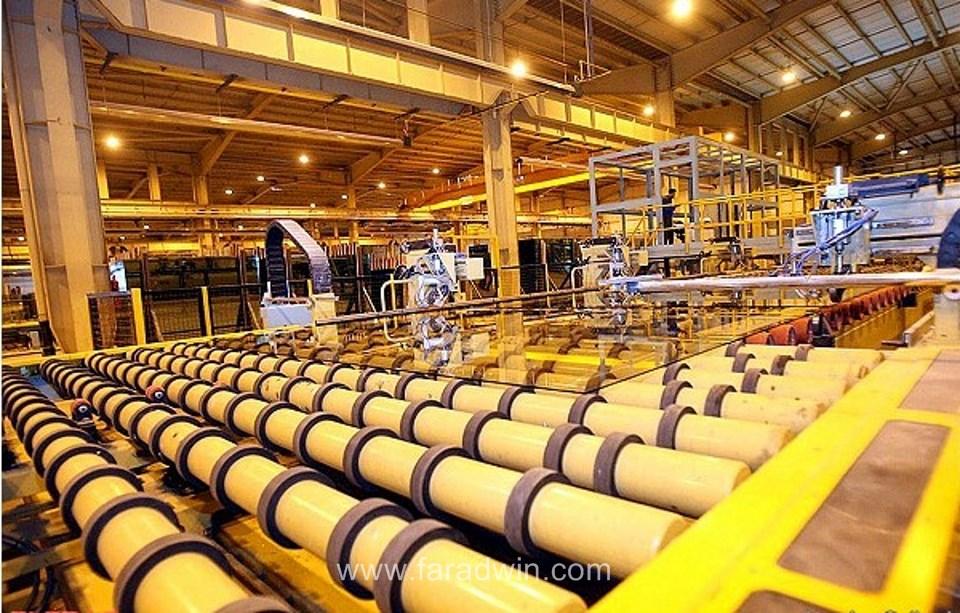تولید شیشه دو جداره صنعتی استاندارد - فاراد پنجرهshishe felot ayteme.1